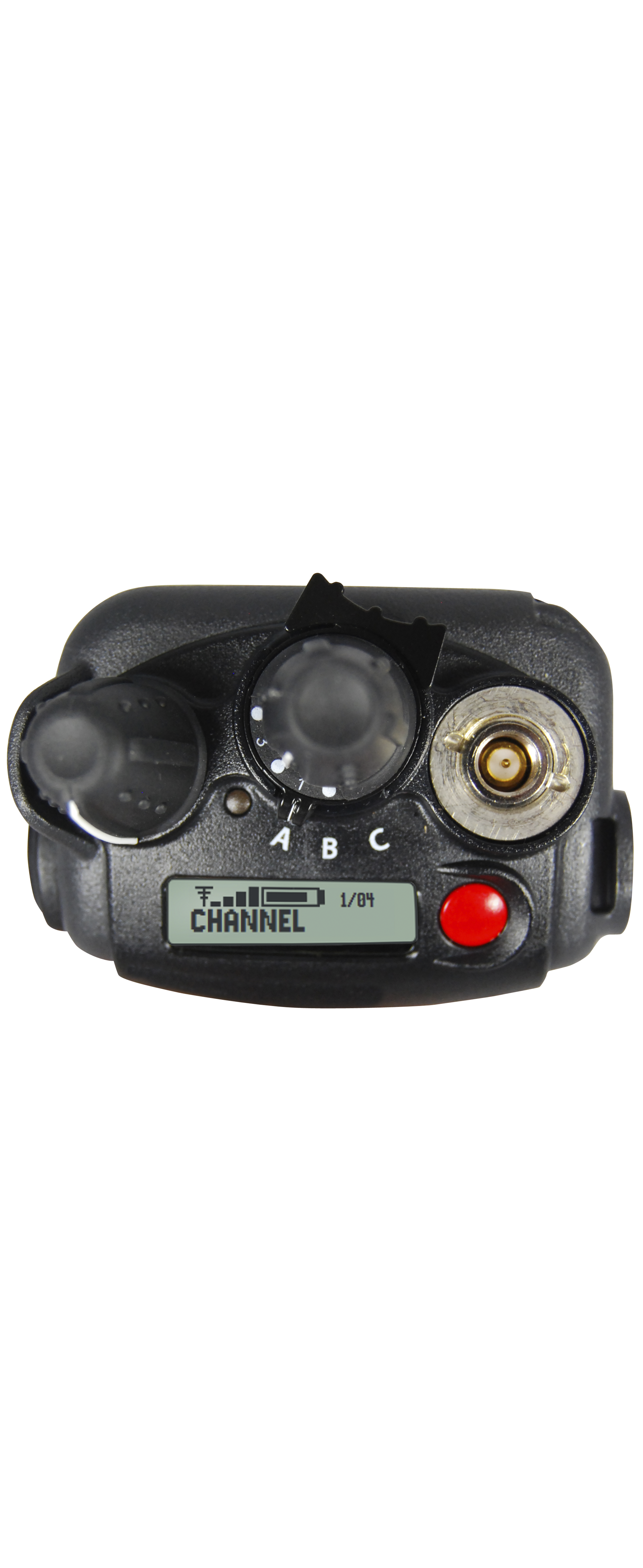 Black VP600 Portable Radios top view
